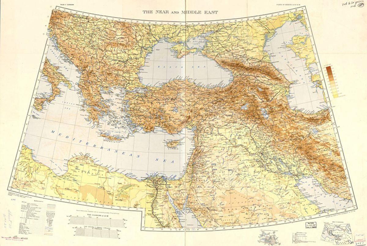 Ближний восток — википедия. что такое ближний восток