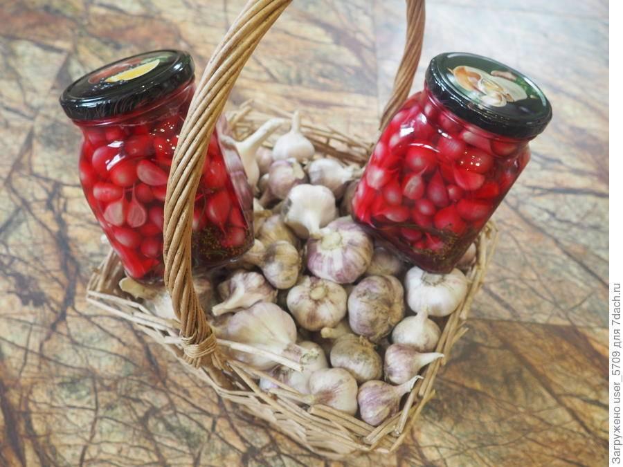 Рецепт квашеного чеснока как на рынке целыми головками