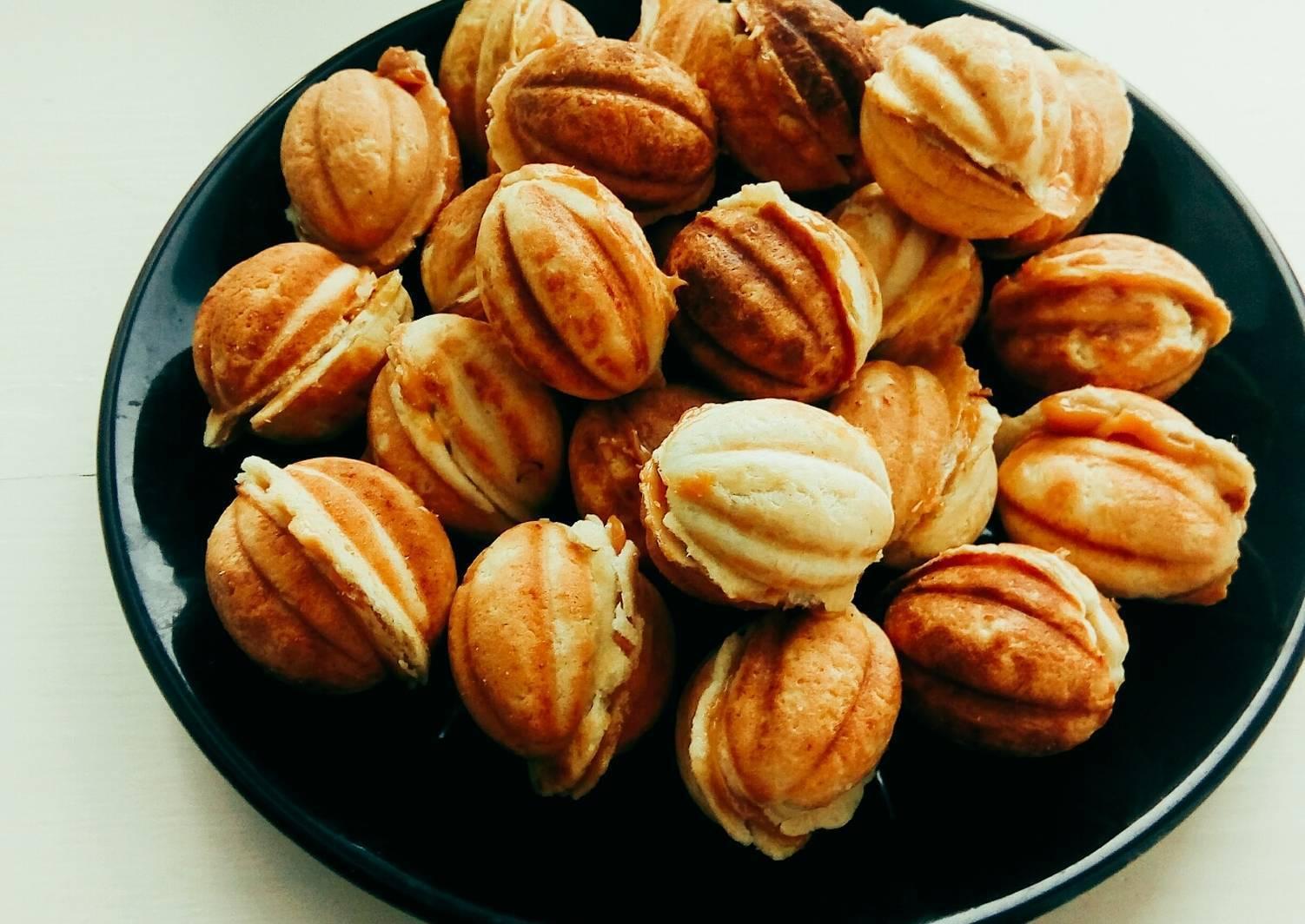 Начинка для орешков: пошаговые рецепты с фото для легкого приготовления