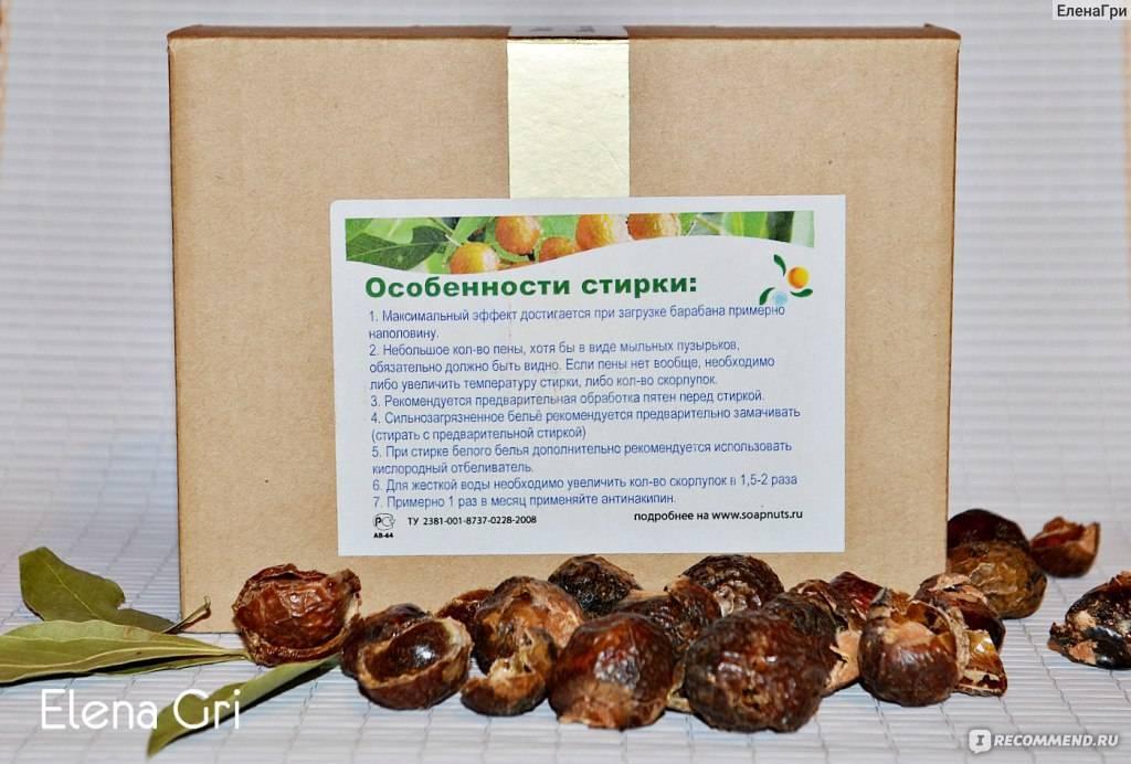 Мыльные орехи для стирки: отзывы