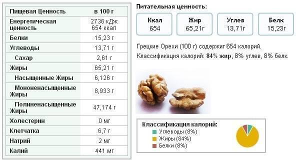 Кедровые орехи: польза и вред для организма, калорийность