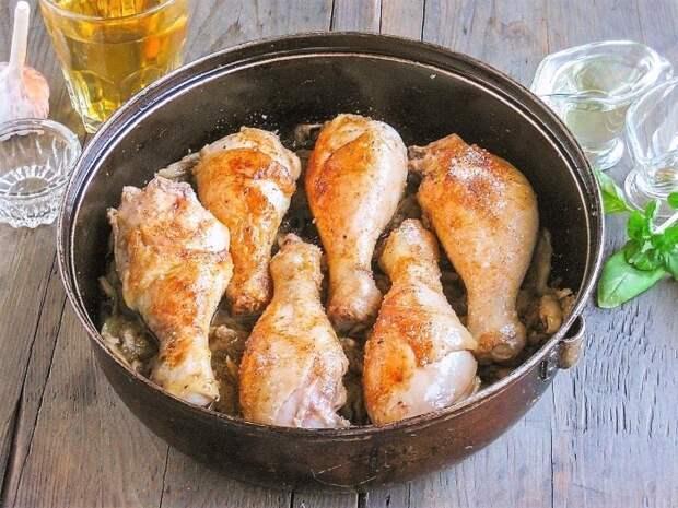 Куриные ножки с рисом в духовке запеченные рецепт с фото пошагово и видео - 1000.menu