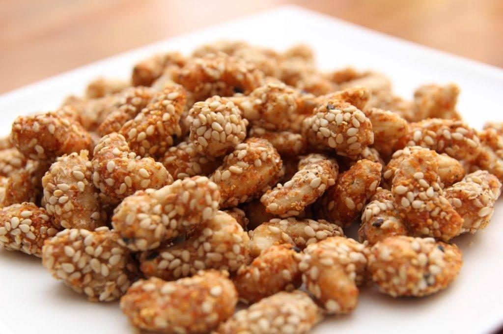 Польза и вред арахиса в кокосе, кунжуте, козинаках, урбече, щербете – хорошие привычки