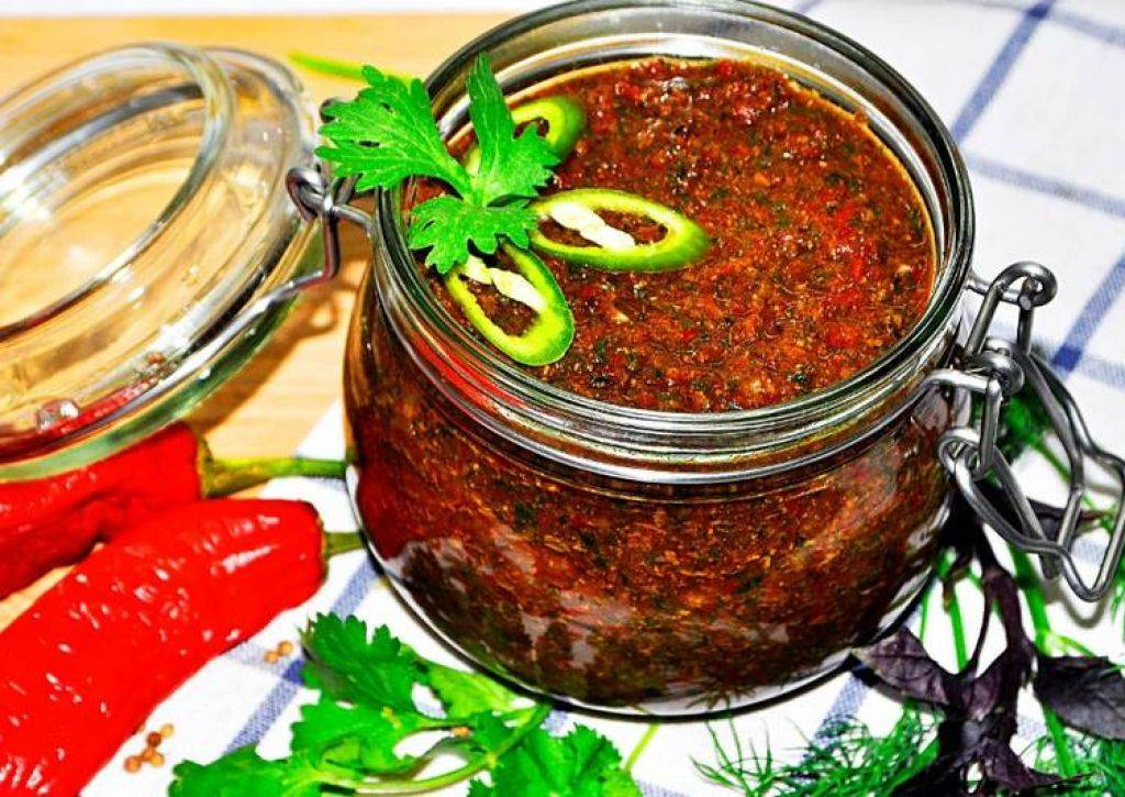 Аджика по-абхазски — традиционный рецепт