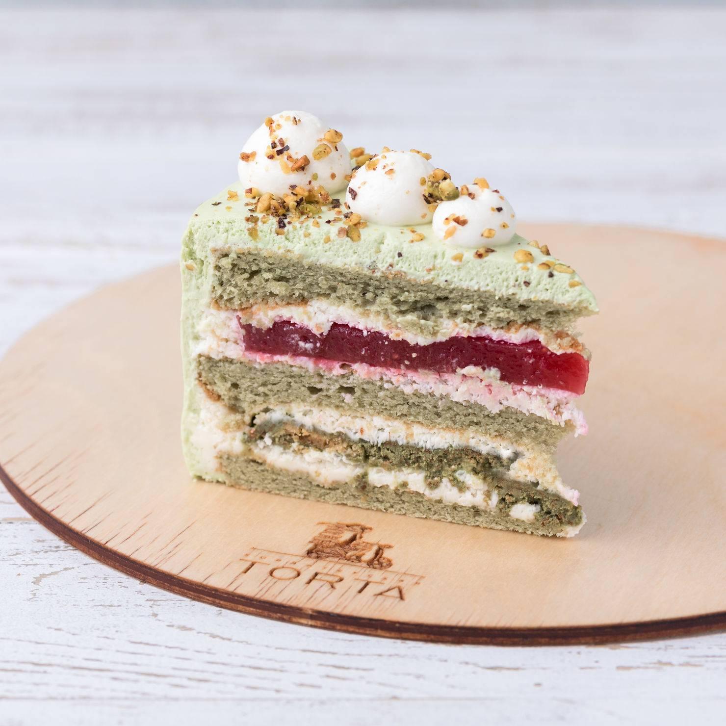 Фисташка, малина - рецепт идеального десерта