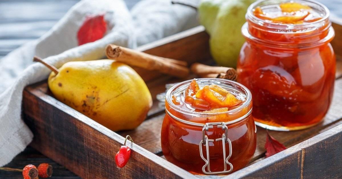 Яблочное варенье с ванилью