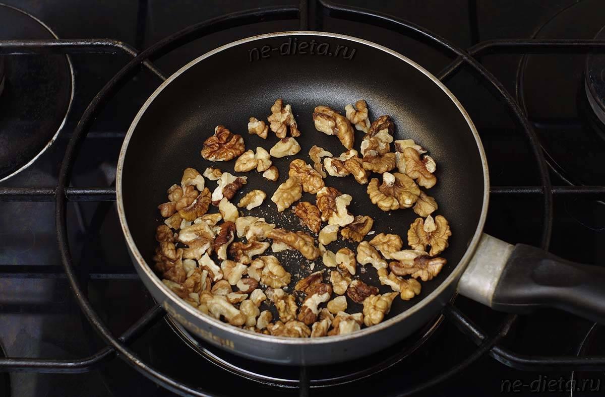 Пожарить кешью в духовке и на сковороде в домашних условиях