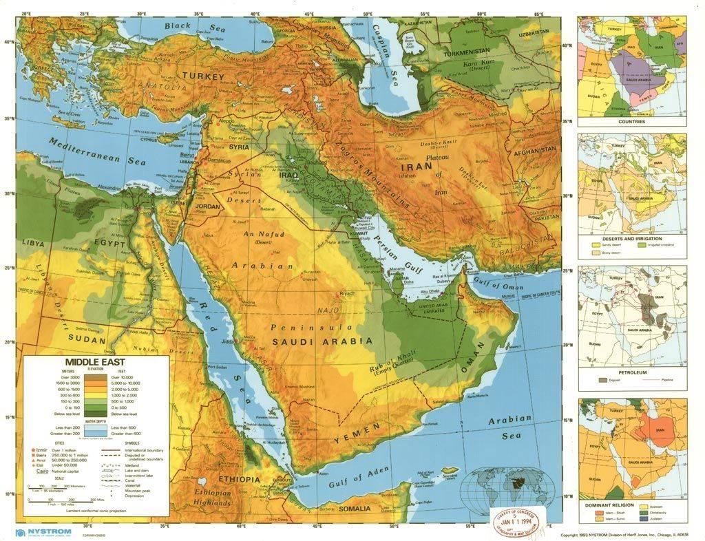 Большой ближний восток как новый феномен геополитической реальности современного мира