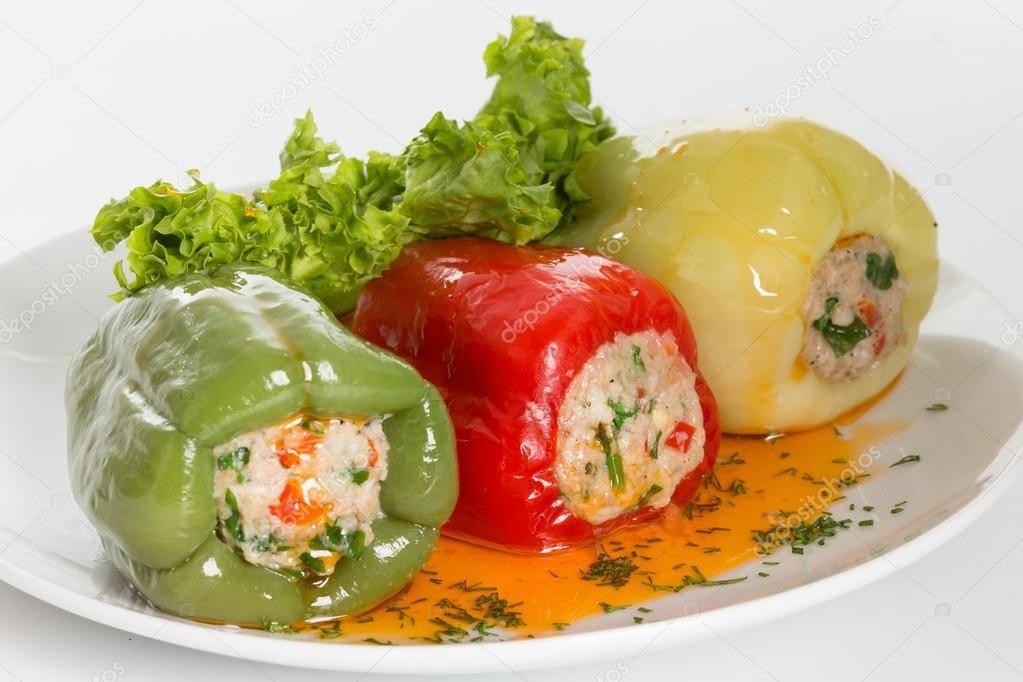 Голубцы, фаршированные овощами. паровая кулинария