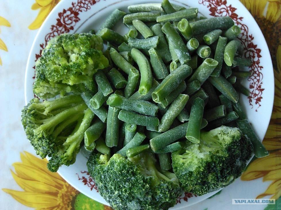 Рецепты цветная капуста с горошком
