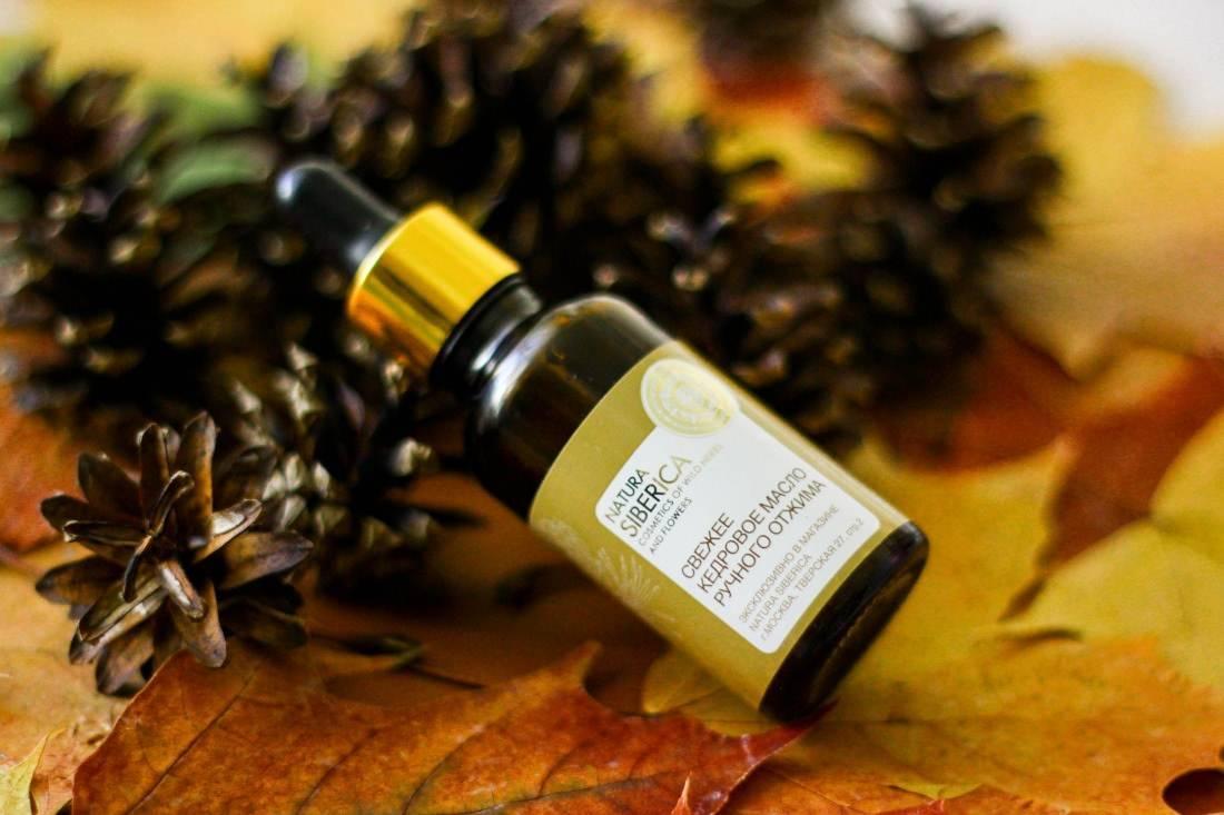Кедровое масло для волос: секреты применения