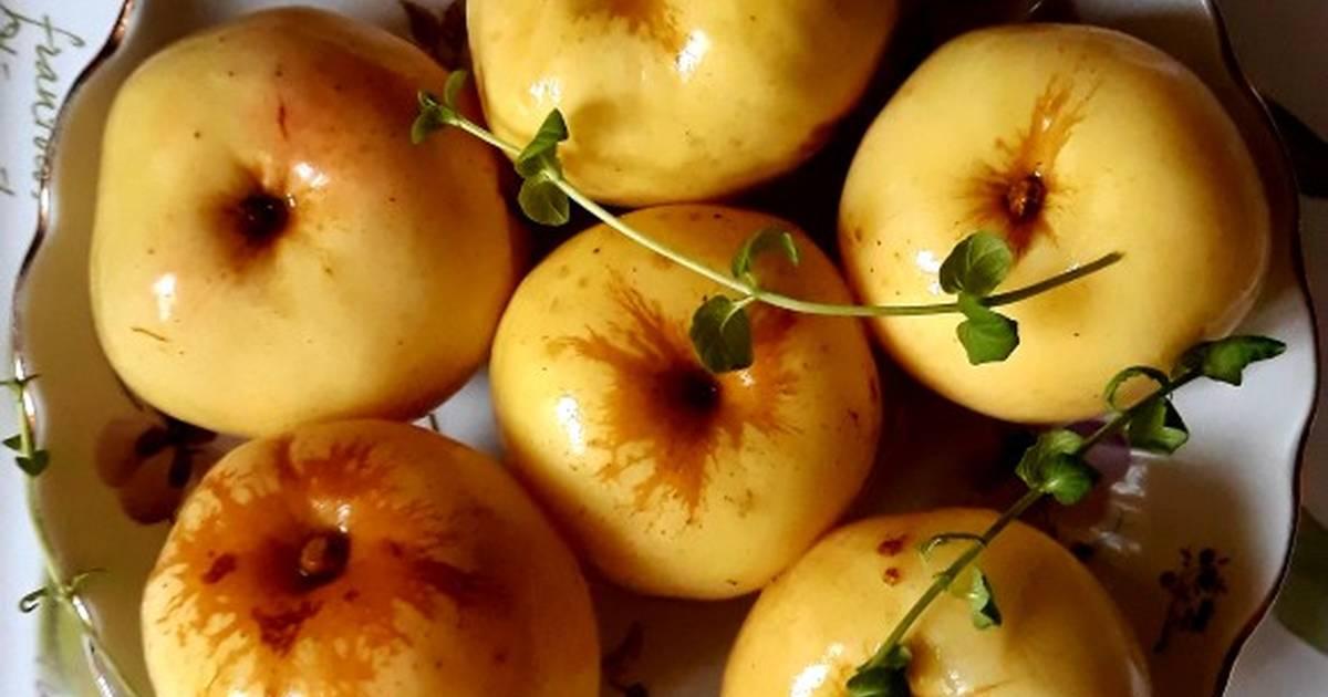 Моченые яблоки: состав, польза, вред, рецепты приготовления