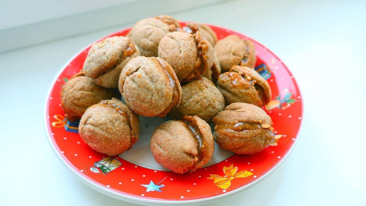 Орешки со сгущенкой - рецепт с пошаговыми фото | меню недели