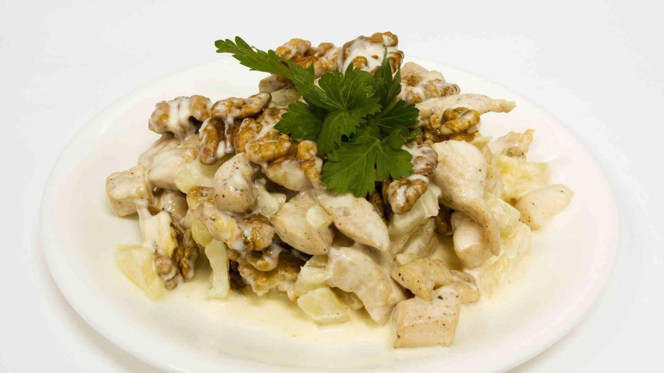 Салаты из грецких орехов и курицы. 5 рецептов на любой вкус   народные знания от кравченко анатолия