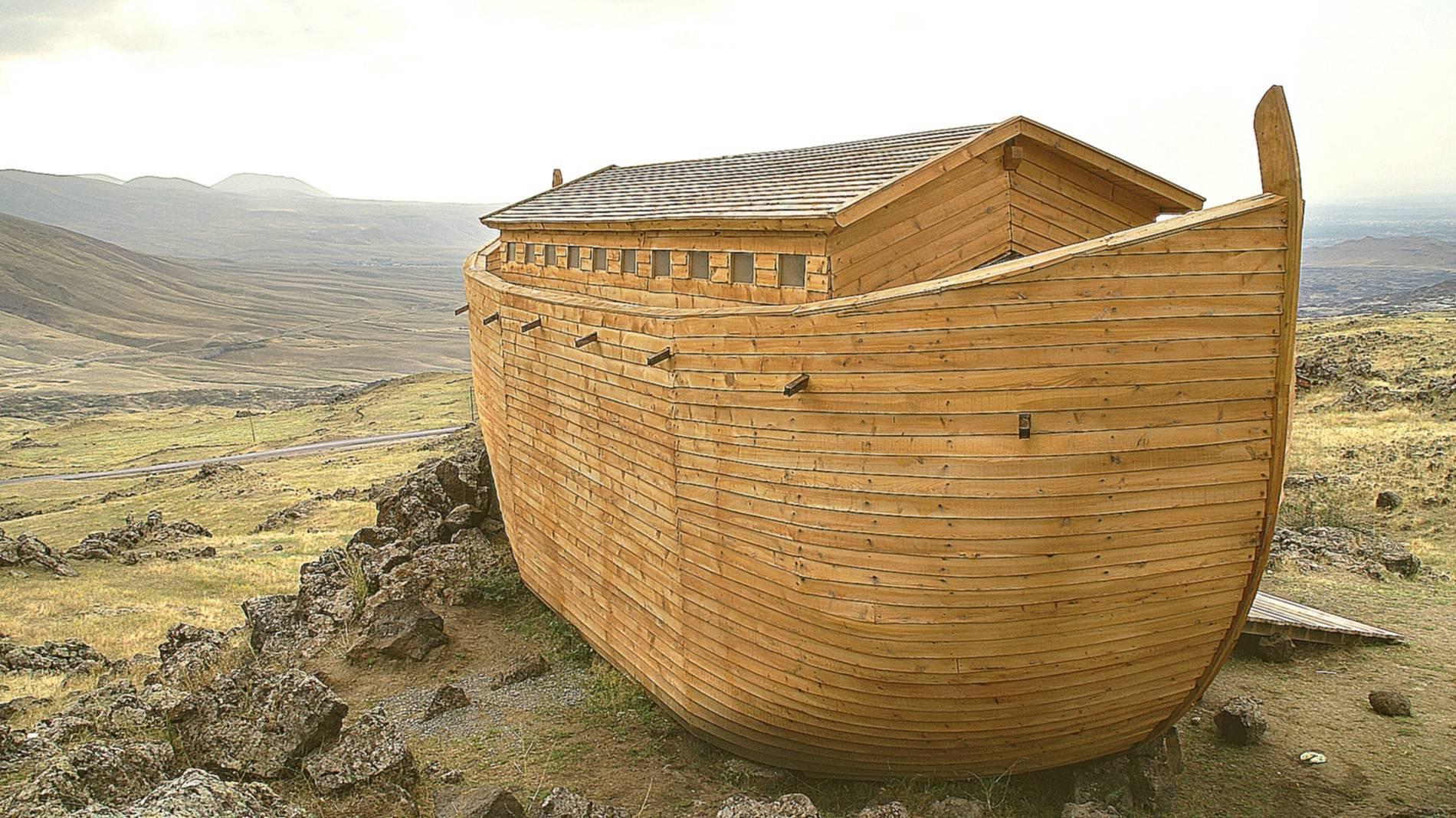Ноев ковчег имел форму пирамиды (fanatic)