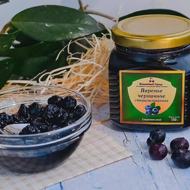Джем из черники: рецепты на зиму, как приготовить черничный конфитюр с желатином