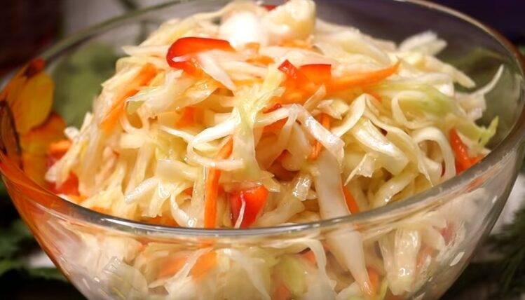 Маринованная капуста быстрого приготовления — быстро и очень вкусно