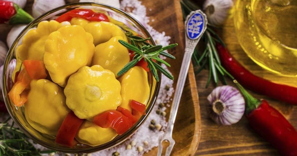 Патиссон на зиму – 5 просты рецептов