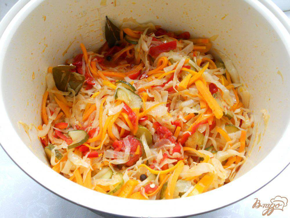 Салат «кубанский» на зиму - 6 рецептов с пошаговыми фото