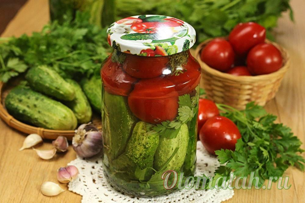 Ассорти из овощей на зиму со стерилизацией и без - самые вкусные рецепты: на 1, 2 и 3 литровую банку