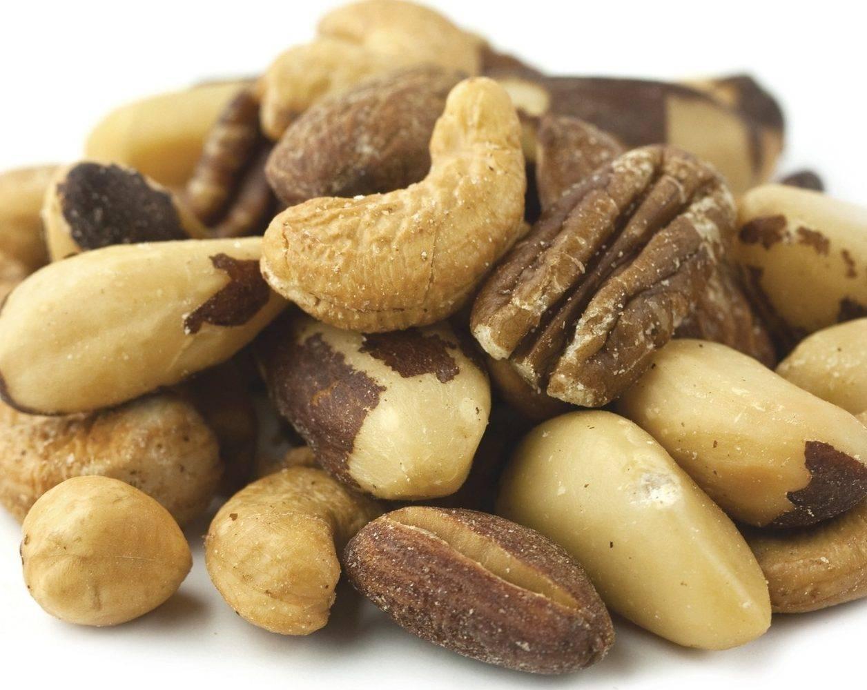 Можно ли орехи при гастрите: грецкие, арахис, кедровые, фундук