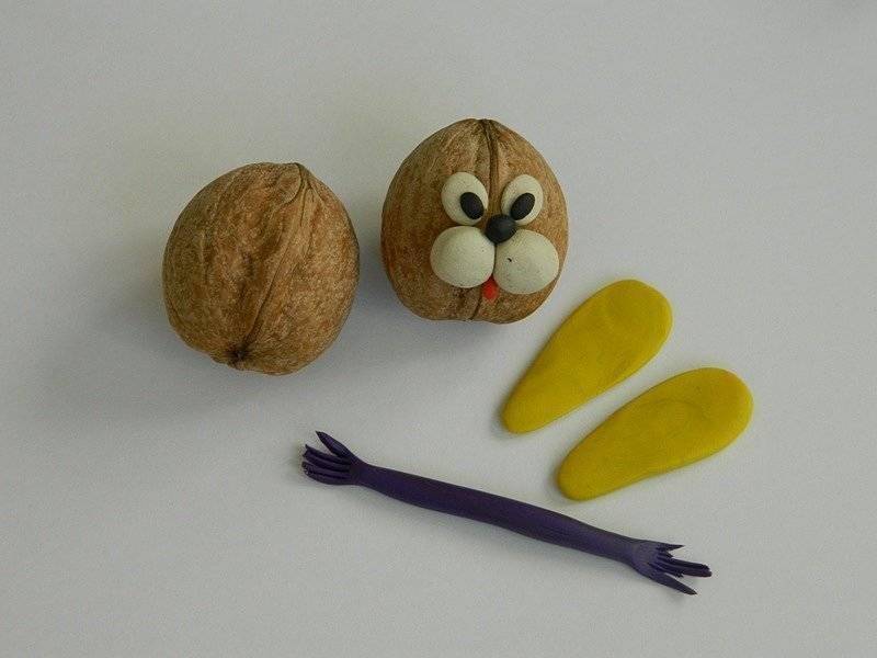Поделки из скорлупы грецкого ореха