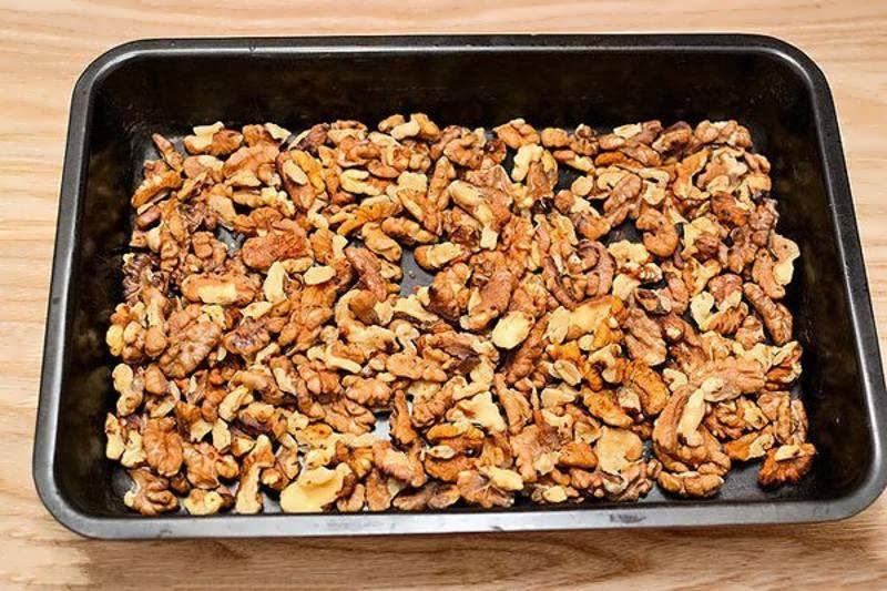 Как жарить орехи   про орехи