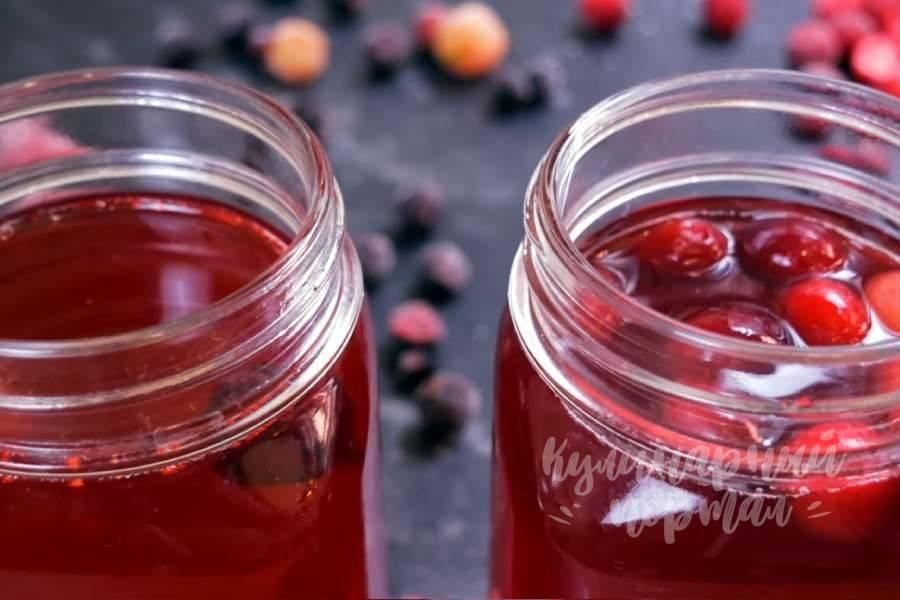 Как приготовить клюквенный морс: жаропонижающий и противоотечный напиток — советы народной мудрости