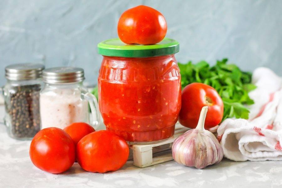Приправа из помидоров и чеснока на зиму: рецепты для приготовления