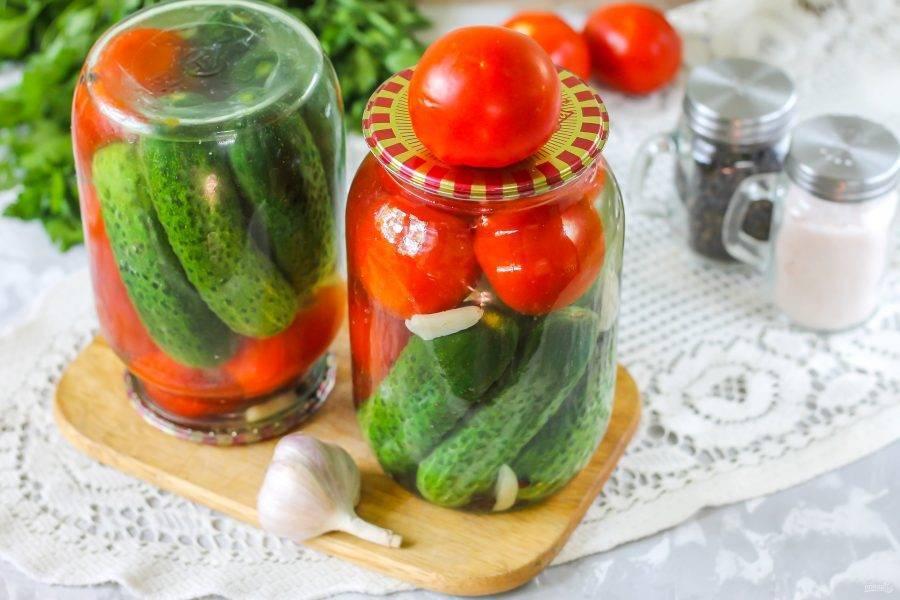 Ассорти из овощей на зиму – 5 изумительных рецептов