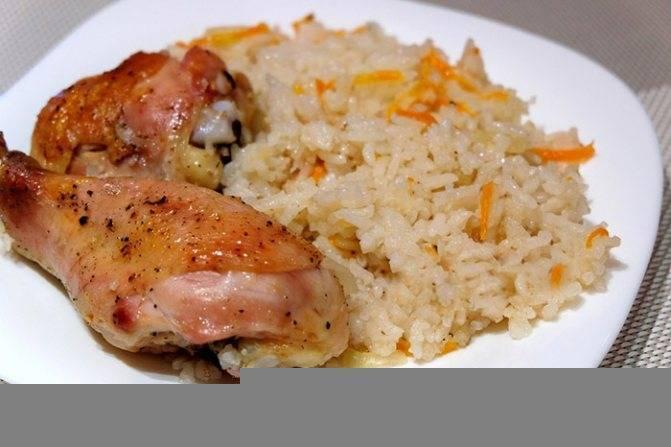 Рис с курицей в духовке - 10 рецептов с пошаговыми фото