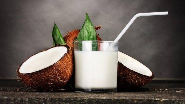 Кокосовое молоко порльза и вред для организма