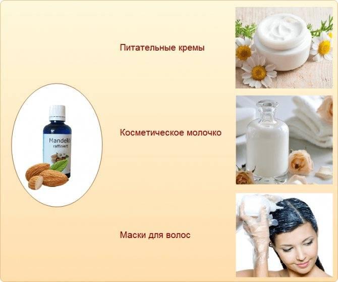 Миндальное масло: свойства и польза, применение в косметологии | здорова и красива