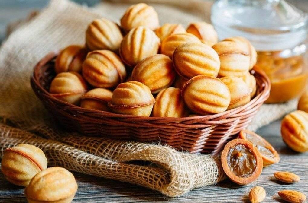 Печенье орешки со сгущенкой - 4 рецепта с фото и видео