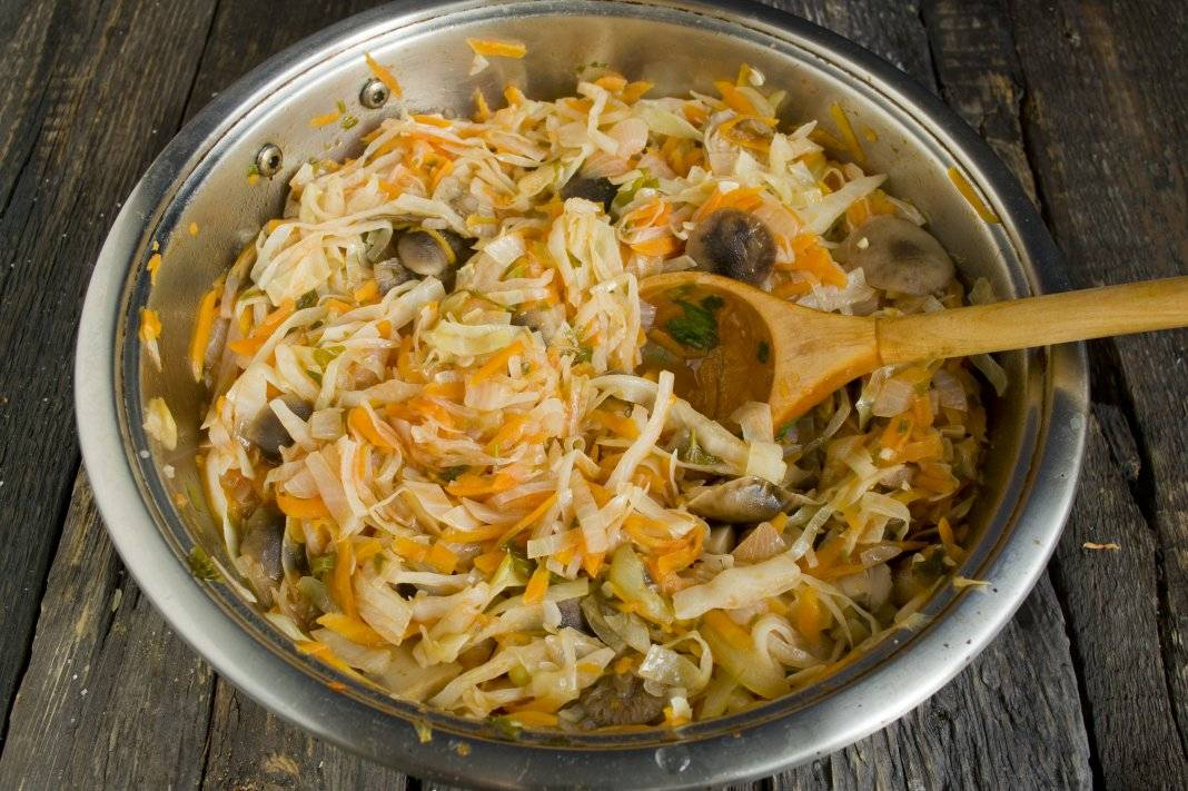 Грибная солянка с капустой на зиму, рецепты заготовки