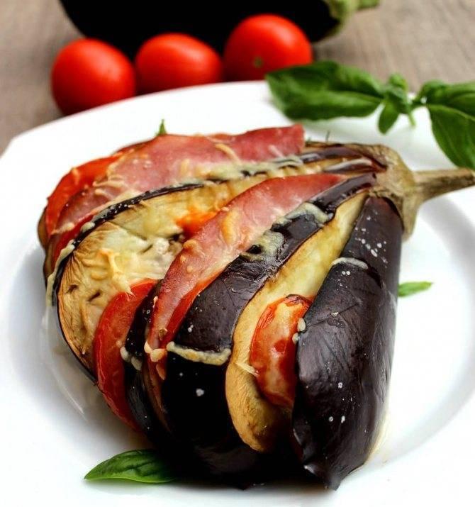 Баклажаны с фаршем в духовке – 10 пошаговых рецептов приготовления