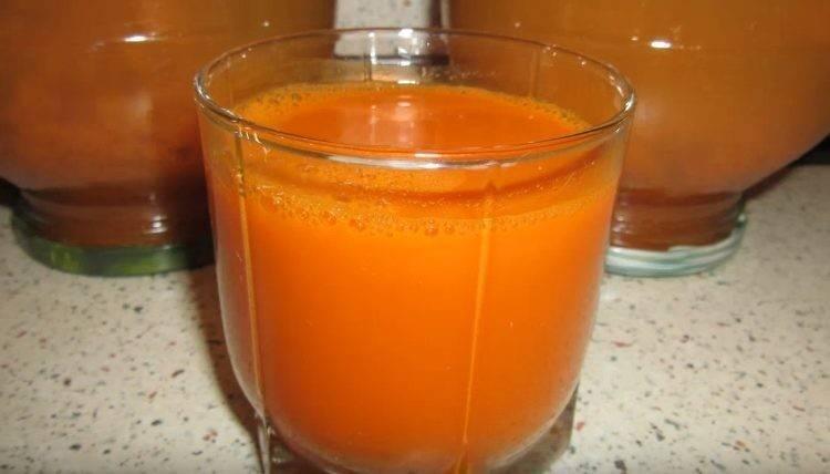 Морковный сок на зиму – 7 рецептов приготовления в домашних условиях