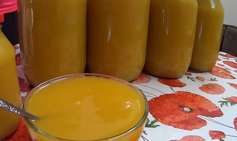 Тыквенный сок в домашних условиях на зиму – 8 пошаговых рецептов
