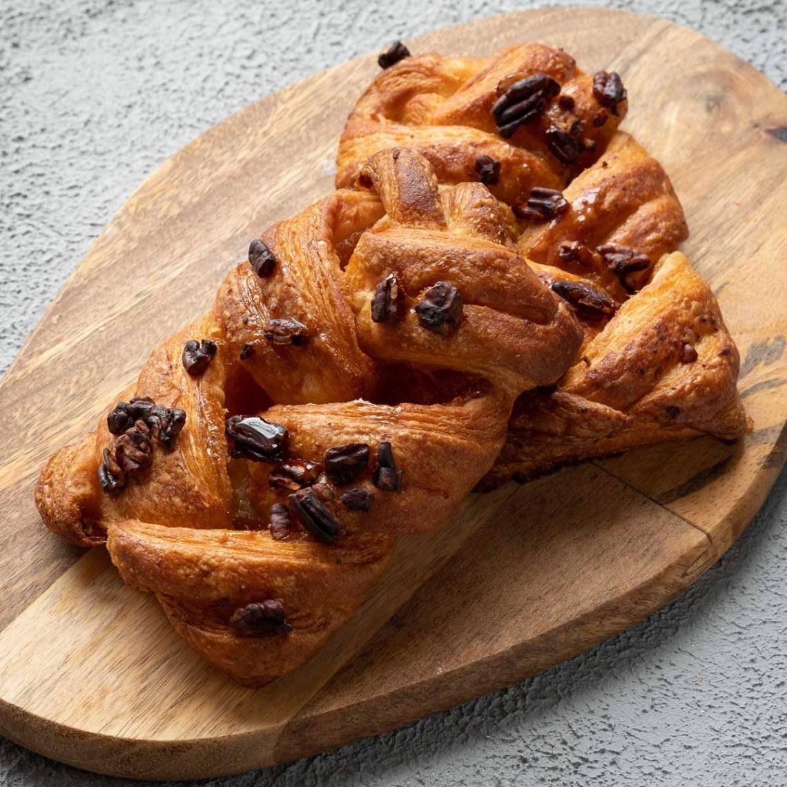Рецепт слойки с орехом пекан и кленовым сиропом