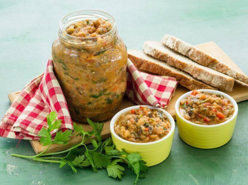 Икра из баклажанов: рецепт заготовки пикантной закуски на зиму