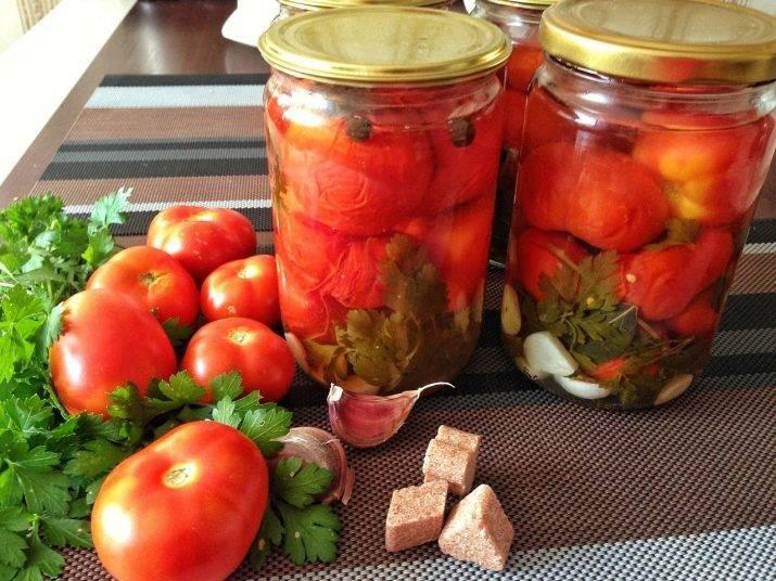 Как сделать помидоры в собственном соку на зиму: 10+ самых вкусных рецептов