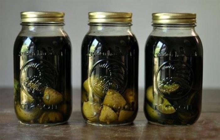 Настойка из маньчжурского ореха: рецепт как приготовить на водке
