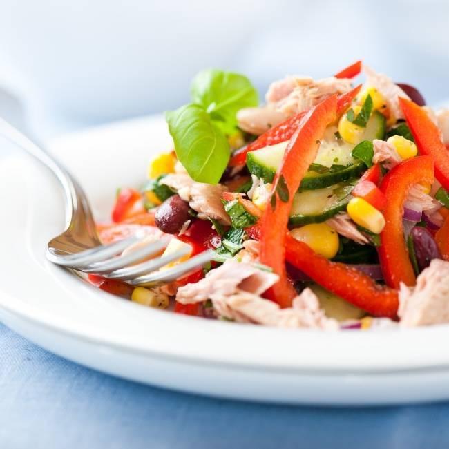 Салат имбирный. рецепты салатов.