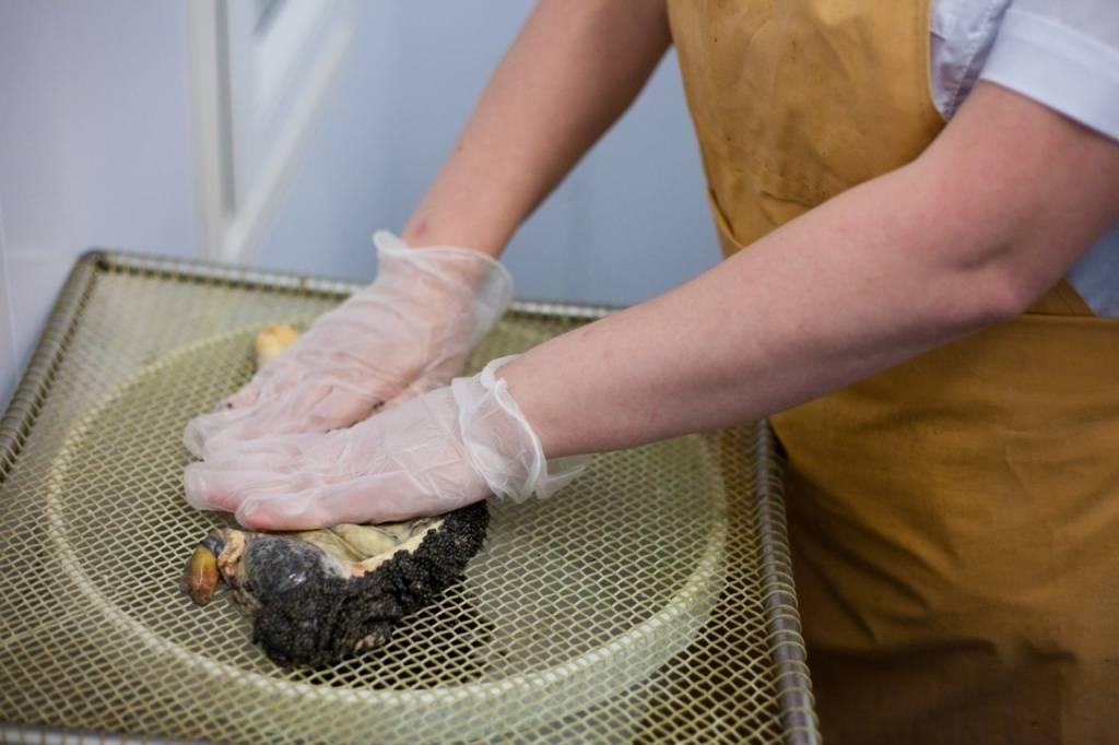 Способ приготовления паюсной икры из рыб осетровых пород