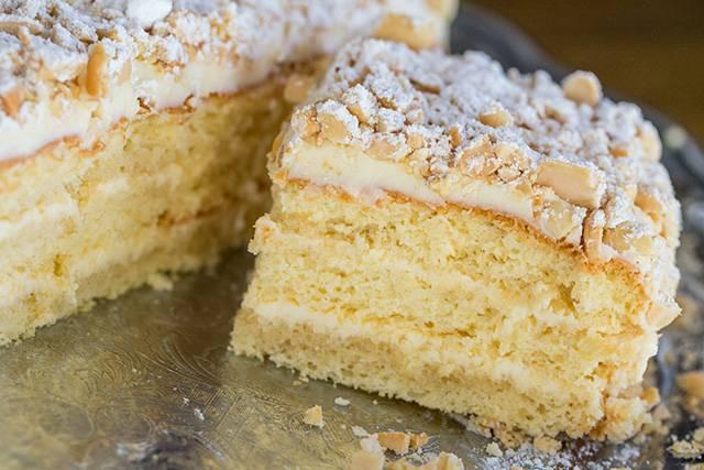 Арахисовый торт с кремом из арахисовой пасты рецепт   гранд кулинар