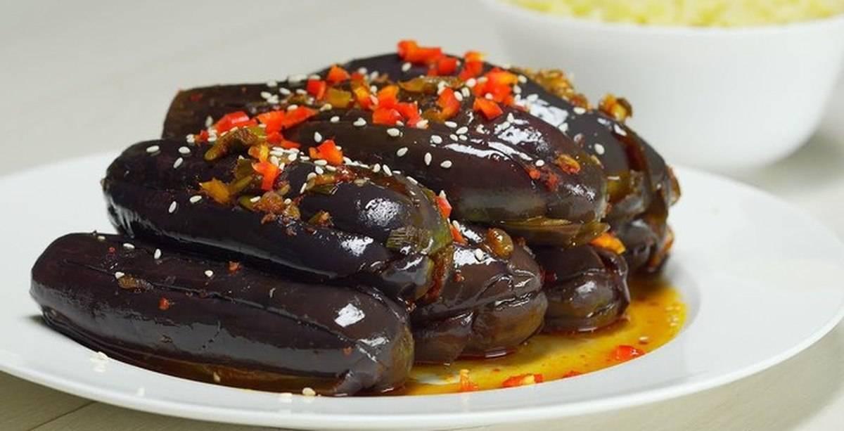 Баклажаны по-корейски: 5 фото рецептов пошагово