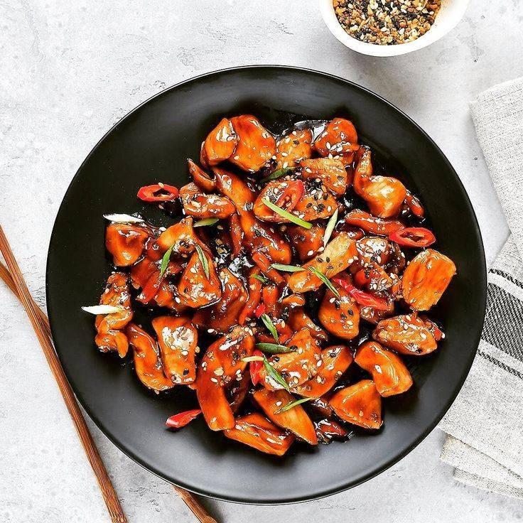 Курица в соевом соусе с арахисом – кулинарный рецепт
