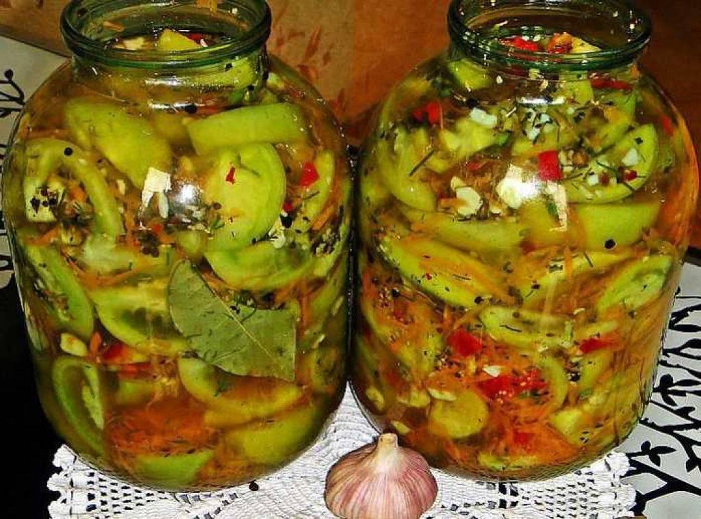 Рецепты приготовления квашеных зелёных помидоров