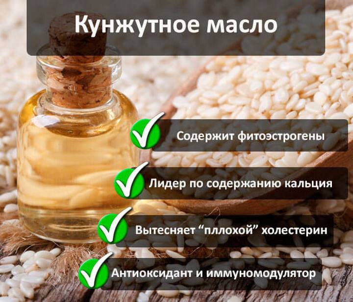 Кунжутное масло: полезные свойства и противопоказания, возможности применения