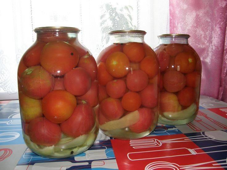 2 вкусных рецепта консервированных очищенных от кожуры помидор на зиму